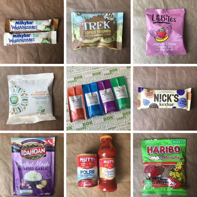 April 2018 Degustabox Contents