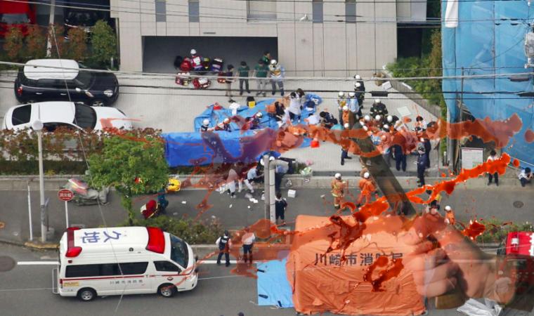 3 Meninggal Dunia dan 15 Lainnya Luka-Luka Setelah Seorang Pria Bersenjata  Menyerang Anak-Anak Yang Menunggu Bus di Kawasaki