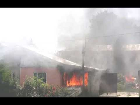 Another fire outbreak in Agboju, near FESTAC