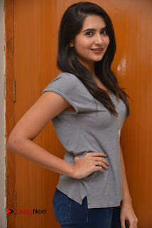 Vyoma Nandi Pictures in Jeans at Marala Telupana Priya Movie Success Meet ~ Celebs Next