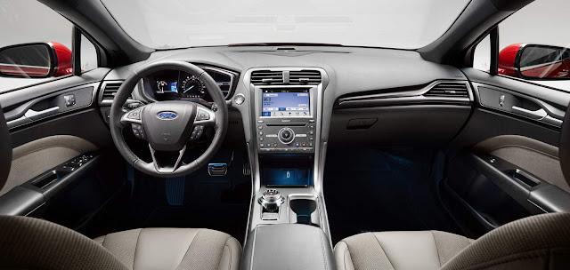 Ford Fusion Sport 2017 - interior