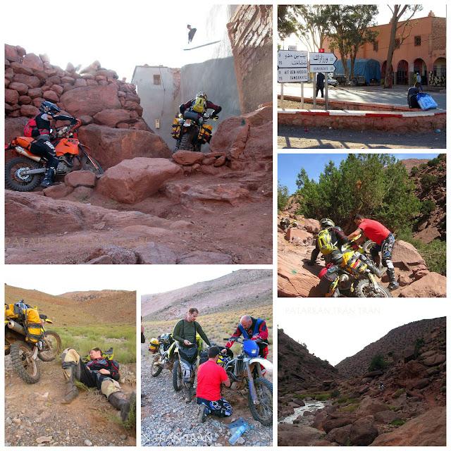 DRZ400. Trail Forever por el Atlas Marroquí.