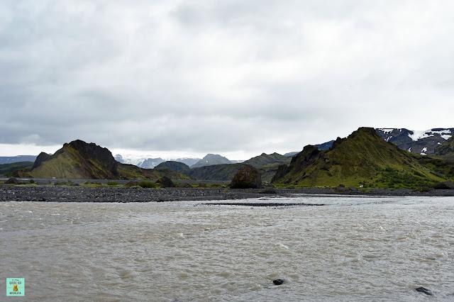 Thórsmörk, Islandia