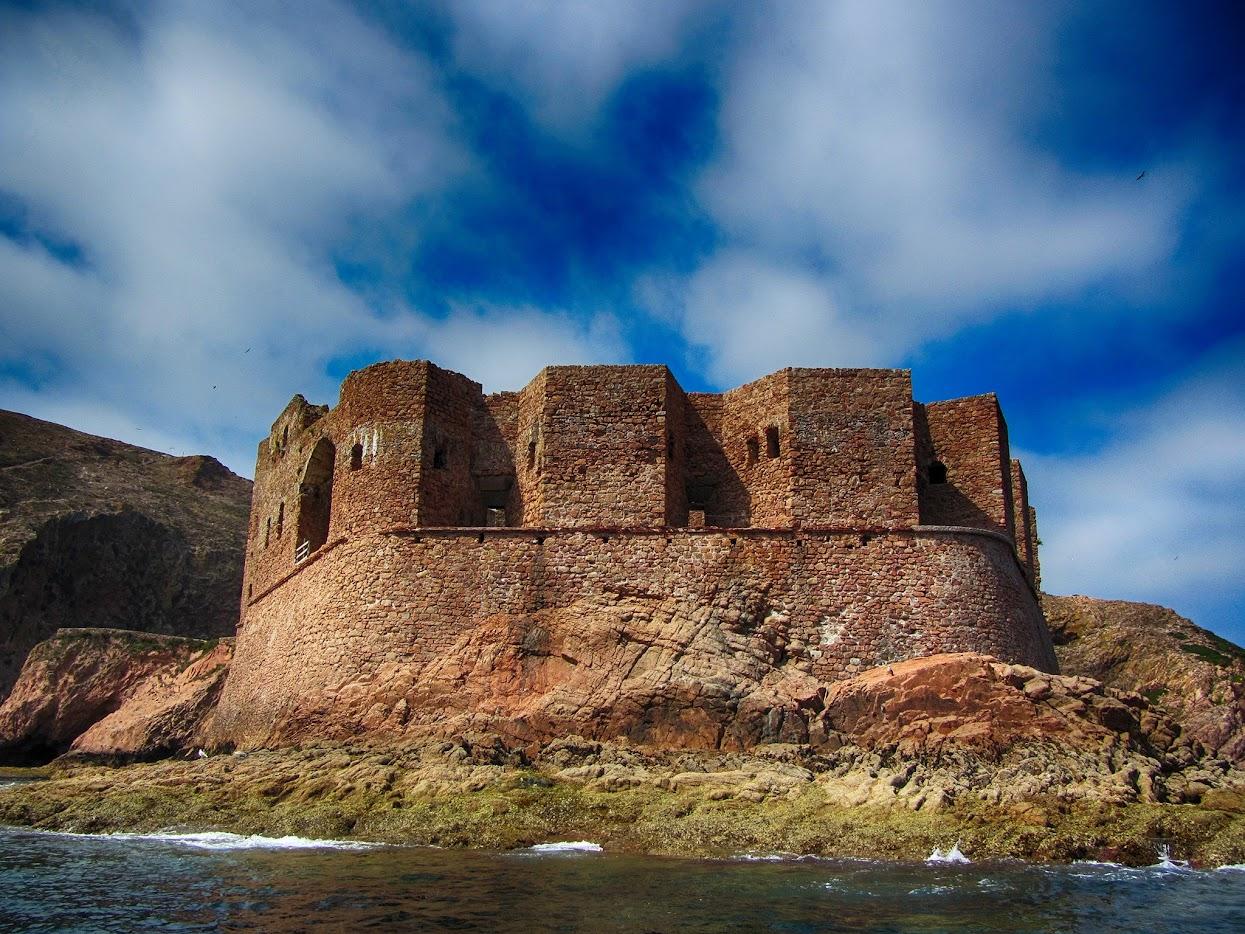 Forte de São João Baptista visto do mar