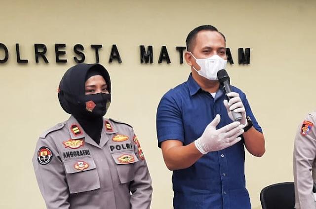 Emak-emak bandar sabu di Mataram lolos dari kejaran Polisi