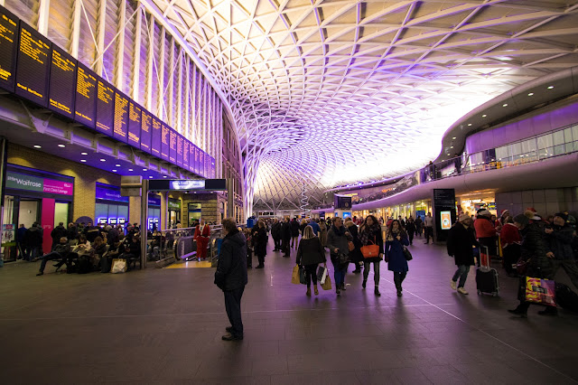 Stazione King's Cross-Londra
