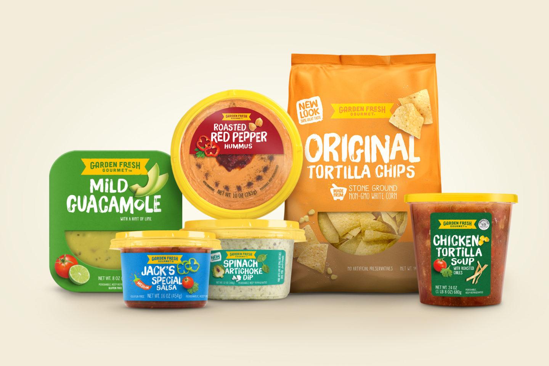 garden fresh gourmet on packaging of the world creative package design gallery - Garden Fresh Gourmet