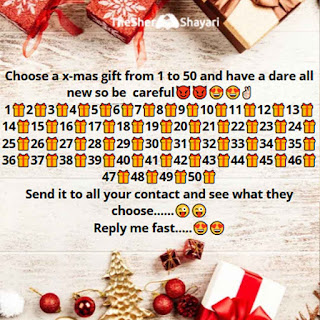 X-MAS Gift Whatsapp Funny Questions and Answers in Hindi