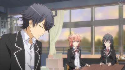 أنمي Yahari Ore no Seishun Love Comedy wa Machigatteiru. Zoku الموسم الثاني مترجم