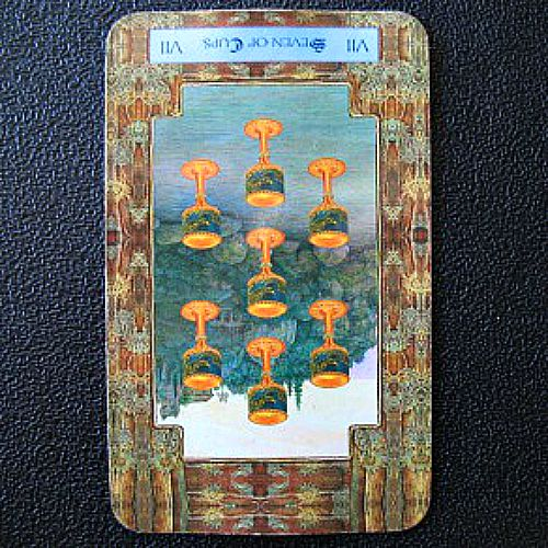 Reversed Seven of Cups