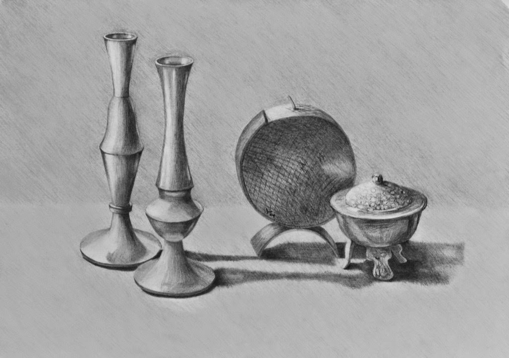 Dibujos Para Colorear Bodegones: Dibujos A Lápiz De Bodegones Dibujos A Lapiz Still