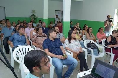 Secretários e chefes de departamento da prefeitura de Lagoa Seca participam de capacitação sobre comunicação institucional