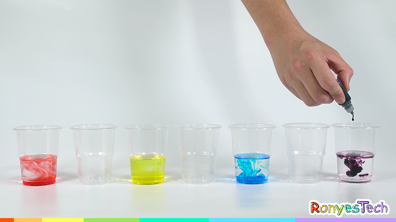 Rainbow Walking Water Science Activity For Kids