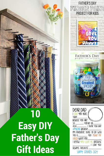 10 easy DIY Father's Day gift ideas!!!