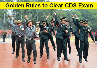 10 Golden Rules to Clear CDS Exams