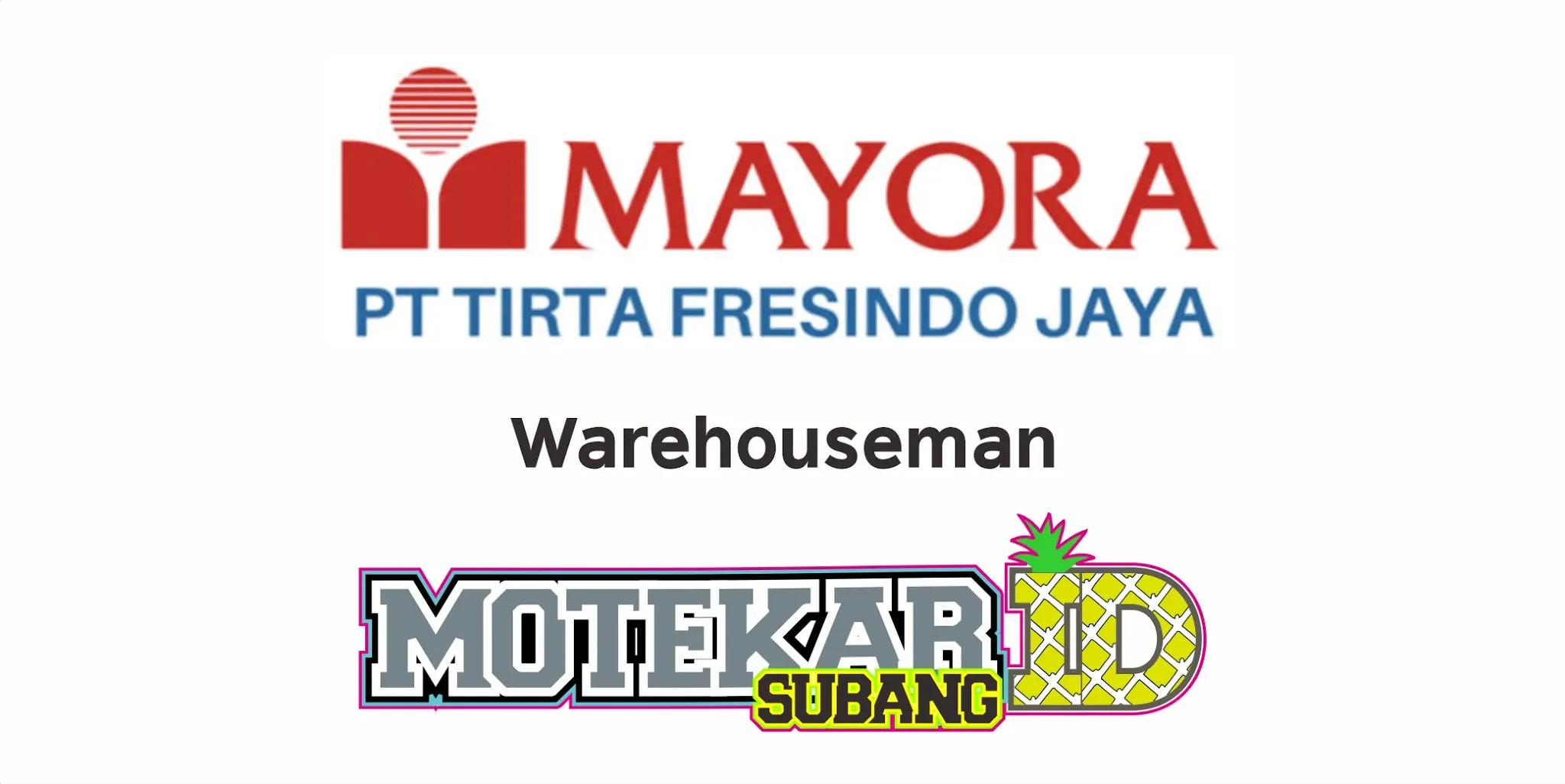 Lowongan Kerja Pt Tirta Fresindo Jaya Januari 2021 Motekar Subang