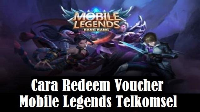 Cara Redeem Voucher Mobile Legends Telkomsel