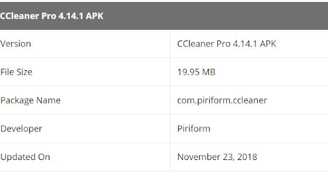 Download CCleaner Professional 4.14.1 Apk Secara Gratis 2
