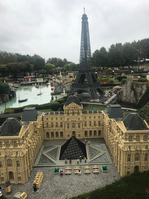 Legoland, Windsor, Miniland, Paris,