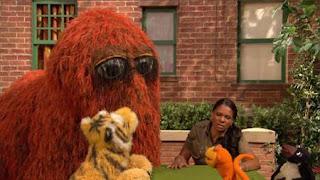 Snuffy, zookeeper Audra McDonald, Sesame Street Episode 4414 The Wild Brunch season 44