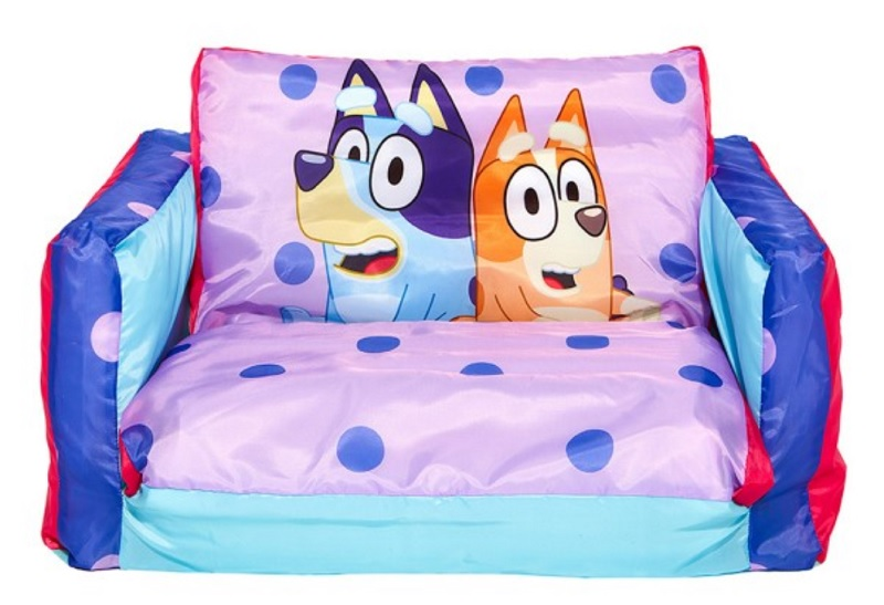 bluey fold out kids couch