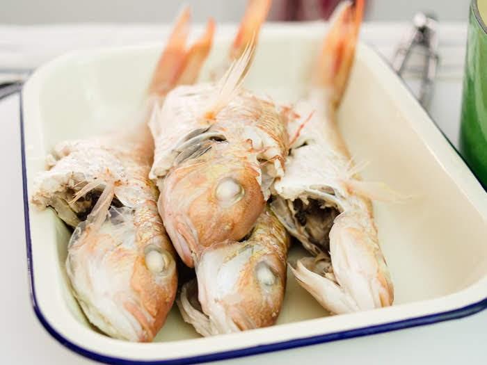 ikan kerisi yang sudah di masak