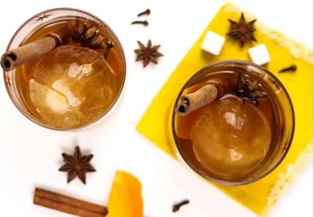 Vanilla Chai Old Fashioned #drinks #alcohol