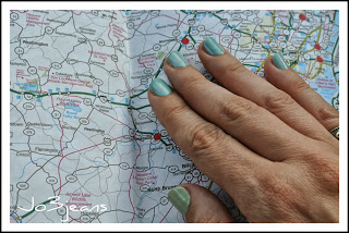 nail art newark map inspiration