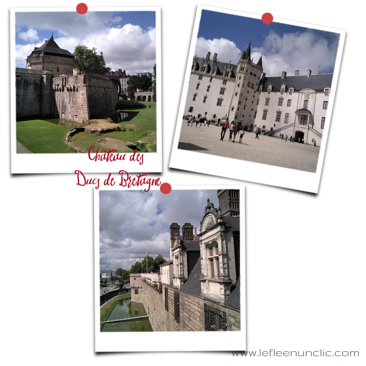 le château des ducs de Bretagne, Nantes, FLE, le FLE en un '