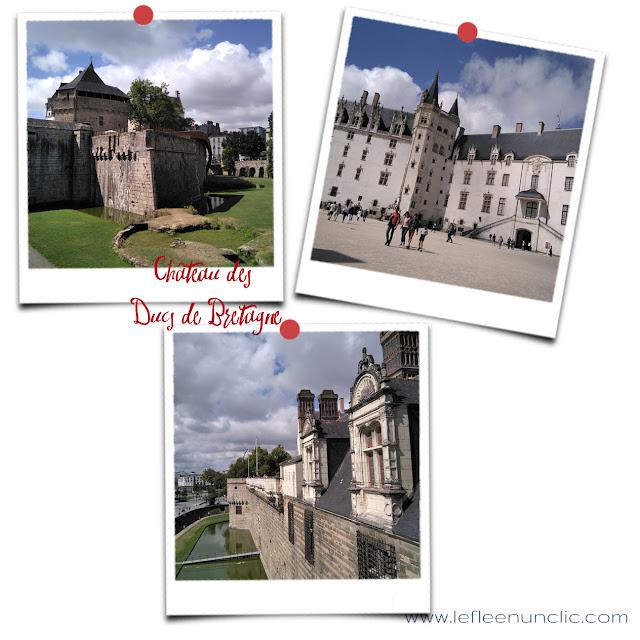 le château des ducs de Bretagne, Nantes, FLE, le FLE en un 'clic'