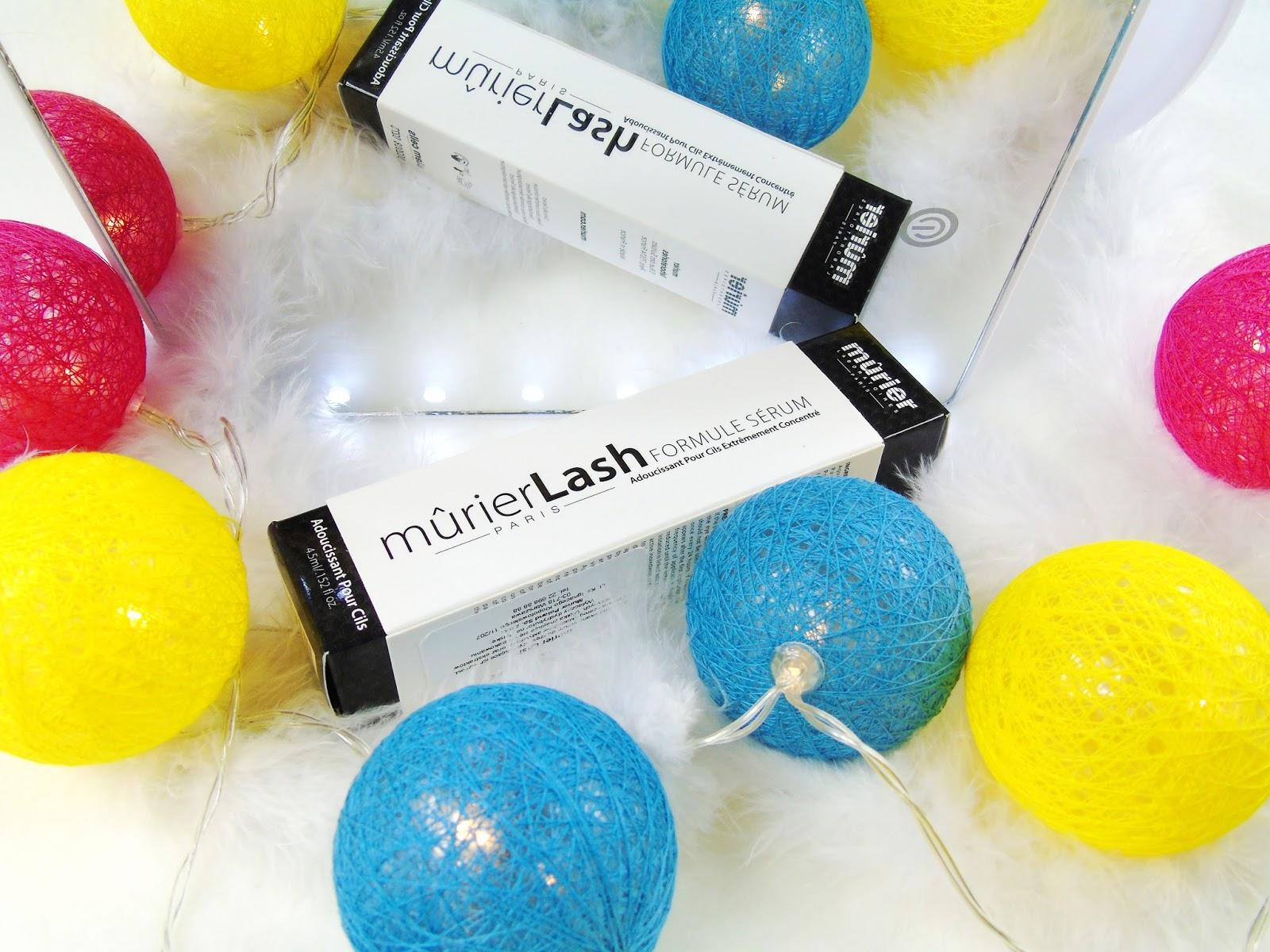 Serum MurierLash - Rewolucyjny kosmetyk przyspieszający porost rzęs - Moje pierwsze wrażenia z testów.