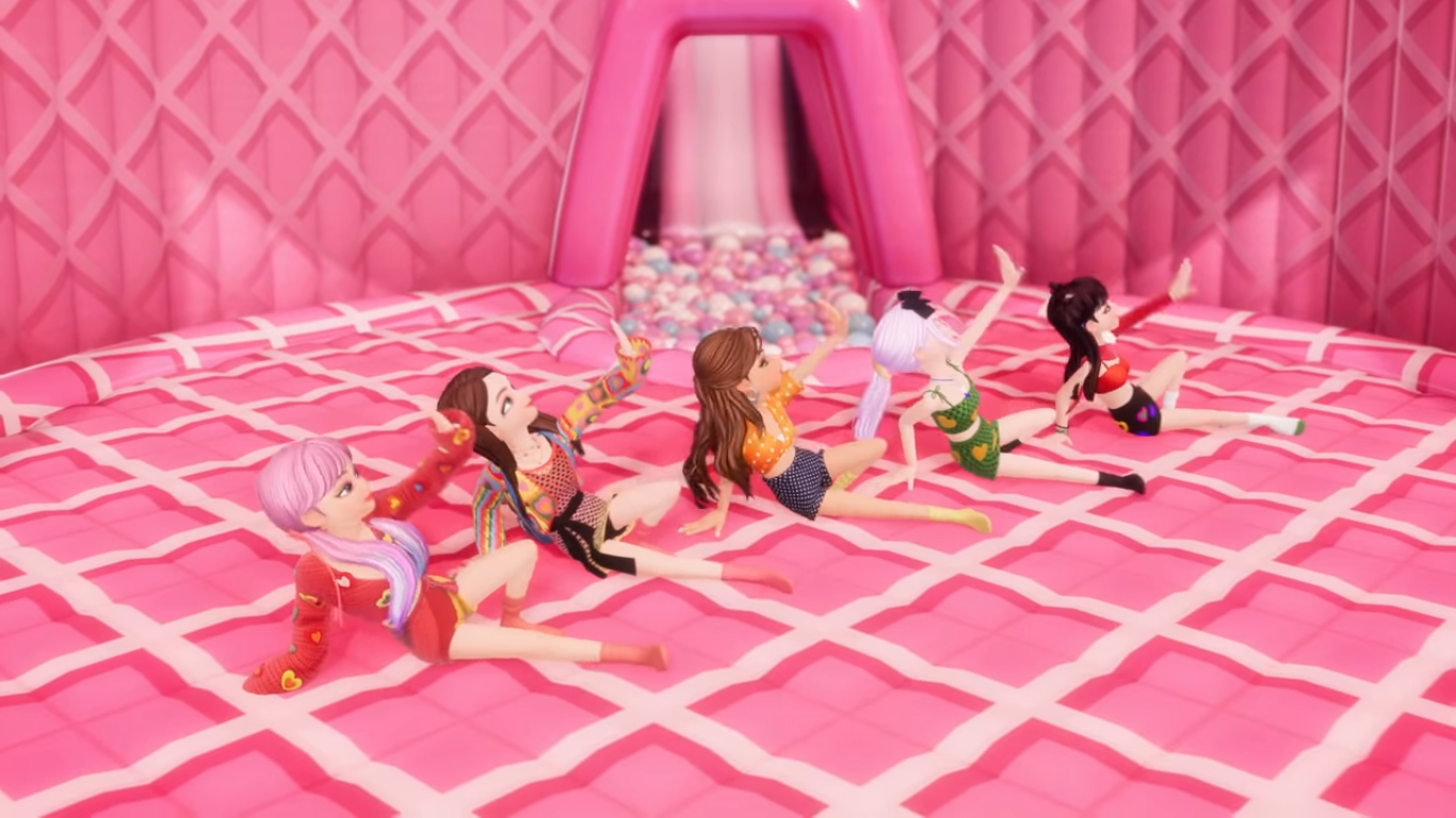 BLACKPINK and Selena Gomez Become ZEPETO Characters in the 'Ice Cream' Performance Video
