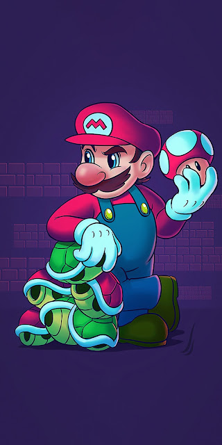 Plano de Fundo Celular Super Mario World