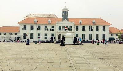 museum fatahillah berada di kawasan kota tua jakarta