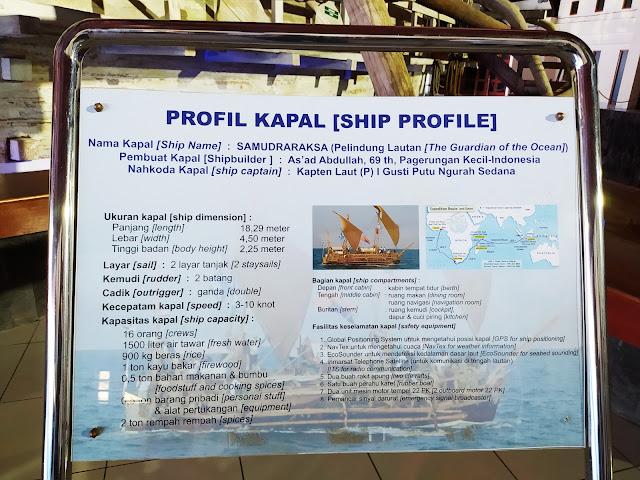 Profil Kapal Samudra Raksa