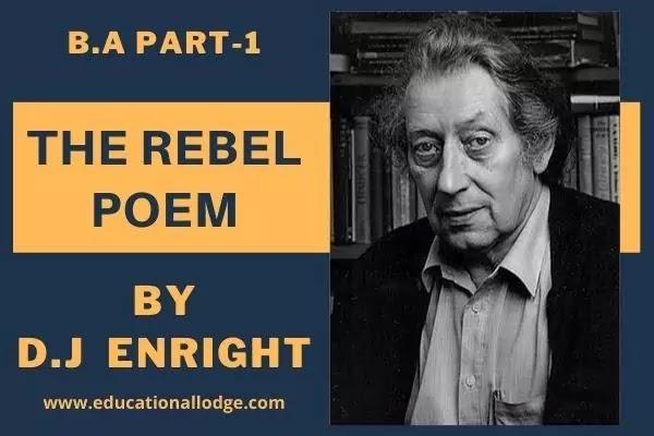 The Rebel Poem, English Poems