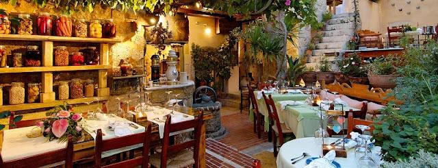 Restaurante Avli, Creta