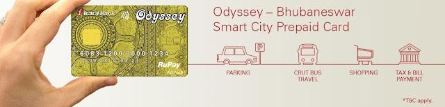 Odyssey Card - Bhubaneswar Smart City Card