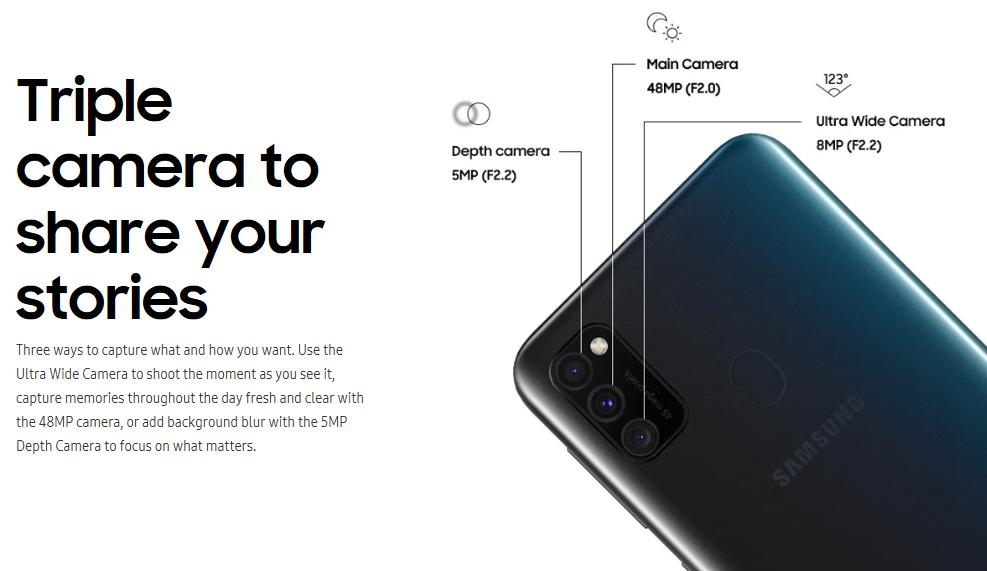 Samsung Galaxy M30s Punya 3 Kamera Andalan Terbaik