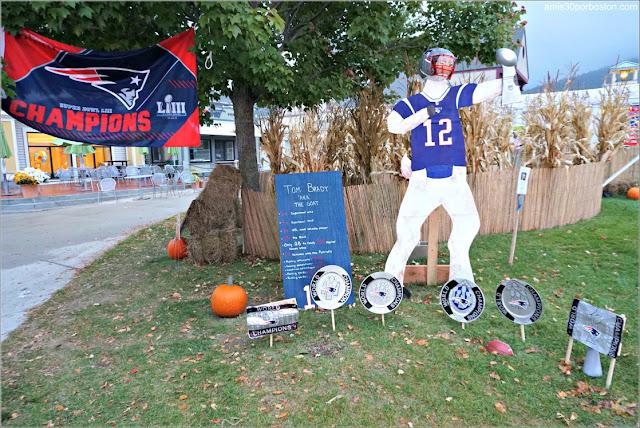 Patriots en el Return of the Pumpkin People de Jackson en New Hampshire