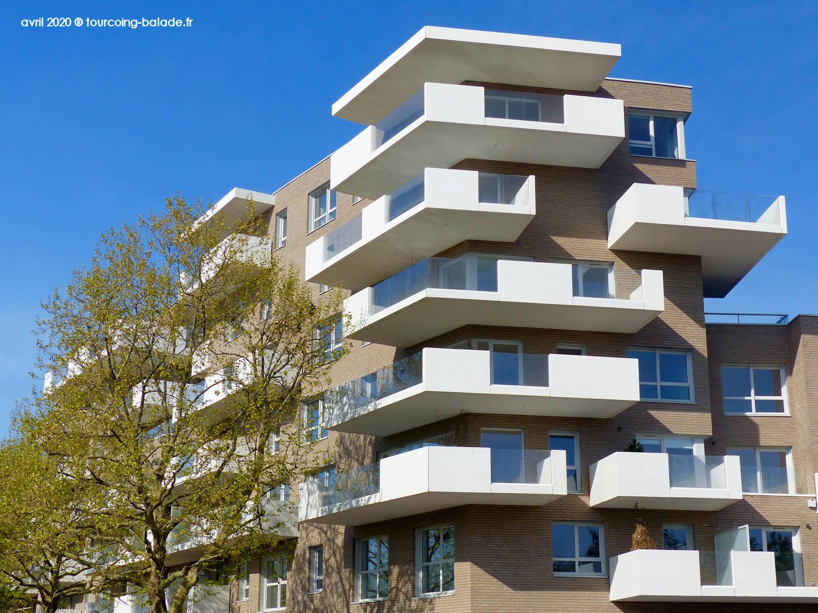 Balcons Résidence Equinox, Tourcoing 2020