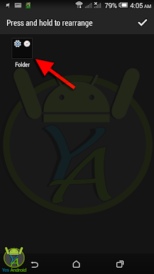 Grouping Apps into Folders on HTC Desire 526G/ 526G+ Dual SIM