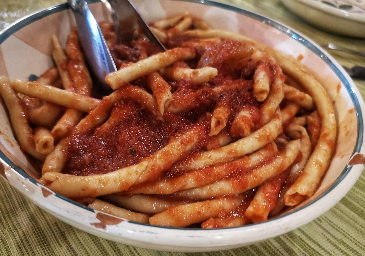 Barone Macrì Gerace cosa mangiare