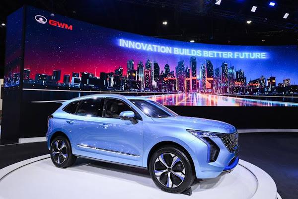 Great Wall SUV 100% elétrico