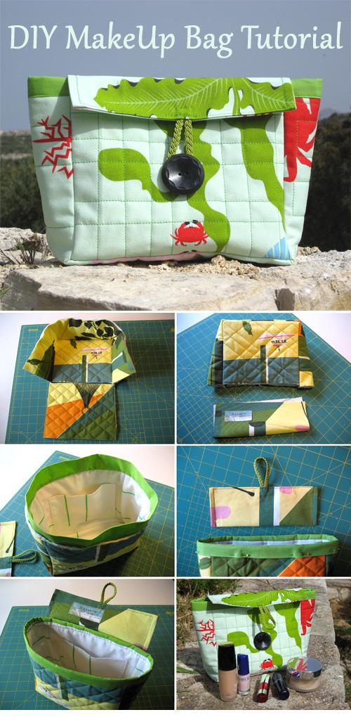 DIY MakeUp Bag Tutorial