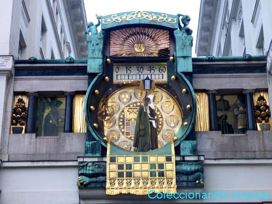 Reloj Ankherurh - visitar Viena en 3 días