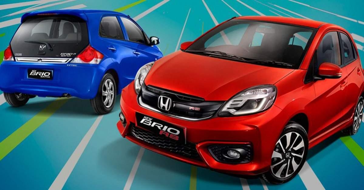 Honda Brio Jadi Mobil Terlaris 2020 di Indonesia