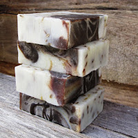 Chocolate and cocoa butter soap - chocolate soap