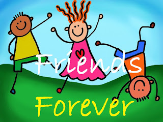 friends forever cartoon pic
