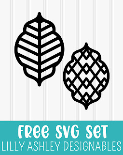 free earring svg lilly ashley designables